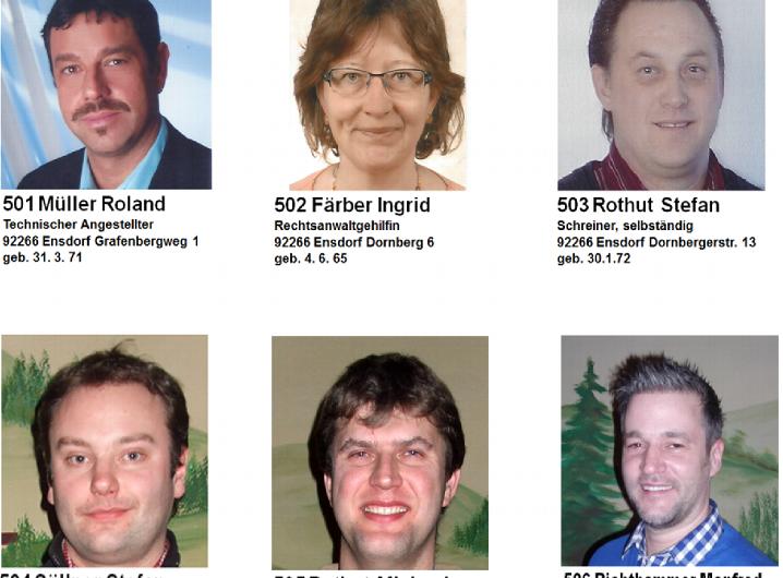 Spitzenkandidaten 2014